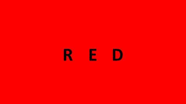 macam macam warna merah
