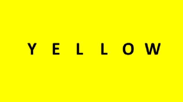macam macam warna kuning