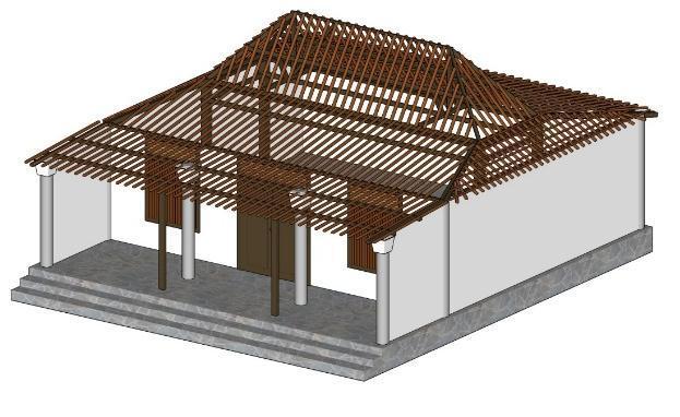 komponen penyusun rumah adat suku madura